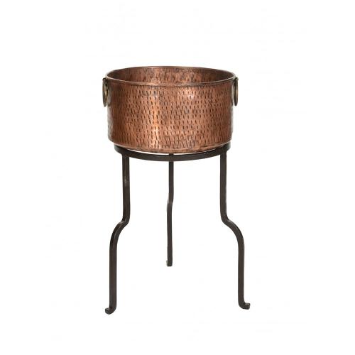 Copper Champagne Cooler, 65x38, Metallic