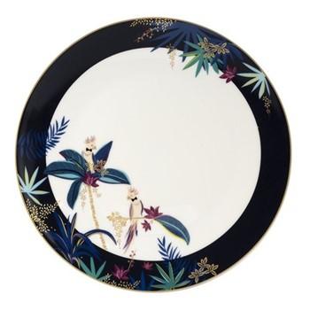 Tahiti - Cockatoo Round platter, 30.5cm