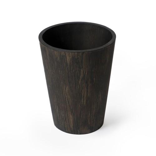 Mezza Bin, H26 x W20 x D20cm, Dark Brown