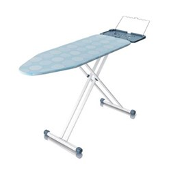 Ironing board with anti drip cover