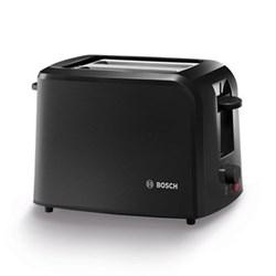 Village Collection Toaster, 19 x 31 x 16cm, black