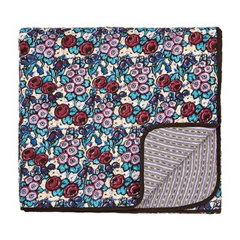 Twilight Garden Throw, L265 x W260cm, lavender
