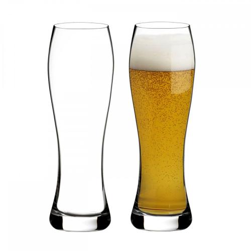 Elegance wine story Pair of lager glasses