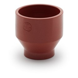 Edge Outdoor pot, Dia18 x H18cm, teracotta/burned red
