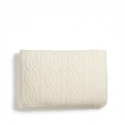 Harrison Cushion cover, L35 x W55cm, cream