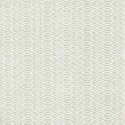 Fair Isle Woven cotton rug, W244 x L305cm, ocean/ivory