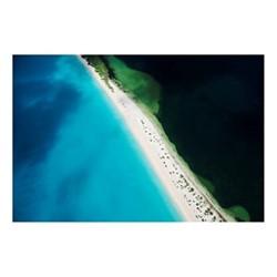 11 Mile Beach, Barbuda by Tommy Clarke Fine art photographic print, H56 x W84.1cm