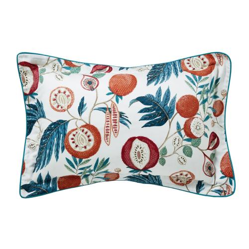 Jackfruit Oxford pillowcase, Indigo