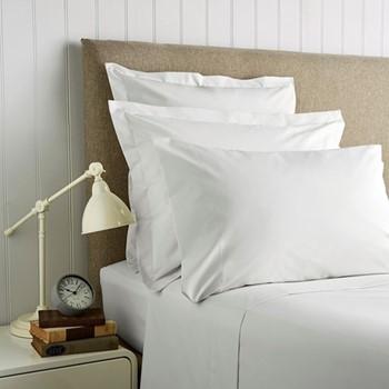400 Thread Count Sateen Super king size duvet cover, L260 x W220cm, white