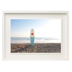 Nergia Day by Laura Austin Framed fine art photographic print with deckled edge, H43 x W57 x D3.3cm, white frame