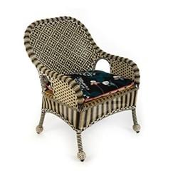 Courtyard Outdoor accent chair, W66.04 x L55.88 x H95.25cm, multi