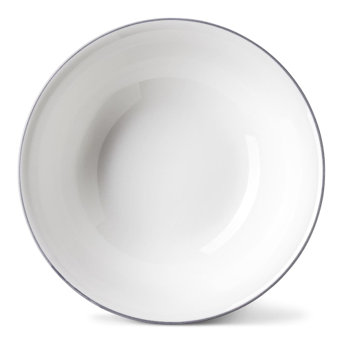 Rainbow Collection Cereal bowl, Dia16 x H5.5cm, Stone Grey Rim