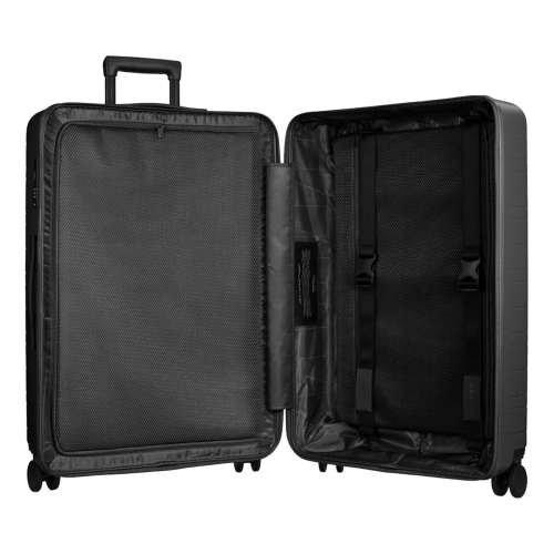 H7 - Smart Luggage Large check-in trolley suitcase, H52 x W28 x D77cm, Graphite