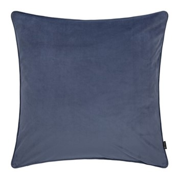 Velvet cushion, W60 x L60cm, night