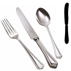 Jesmond Butter knife, silver plate
