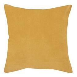 Elise Velvet Cushion cover, 45 x 45cm, yellow