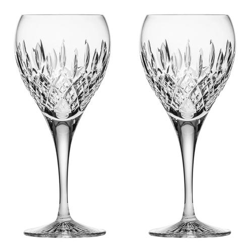 Sandringham Pair of small wine glasses, H19.5cm