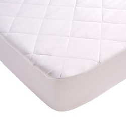 Anti-Allergy Double mattress protector, L190 x W135cm, peach