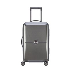 Turenne 4-Double wheel cabin trolley case, 55cm, silver
