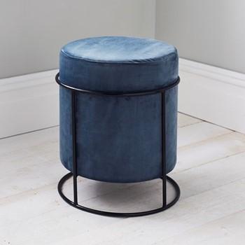 Stack stool, L37 x W37 x D45cm, dark grey