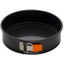 Bakeware Round springform cake tin, 20cm, Black