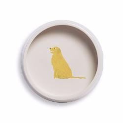 Mans's Best Friend Dog bowl, D18 x H6cm, Golden Retriever