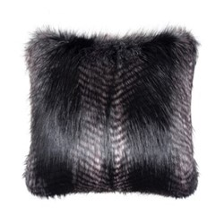 Signature Collection Cushion, 60 x 60cm, black quail