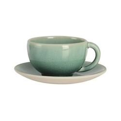Tourron Natural Teacup, 18cl, jade