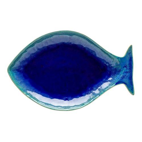 Dori - Sea Bream Small dish, 30cm, Atlantic Blue
