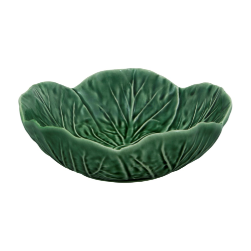 Cabbage Set of 4 bowls, 15 x 5.5cm, Green