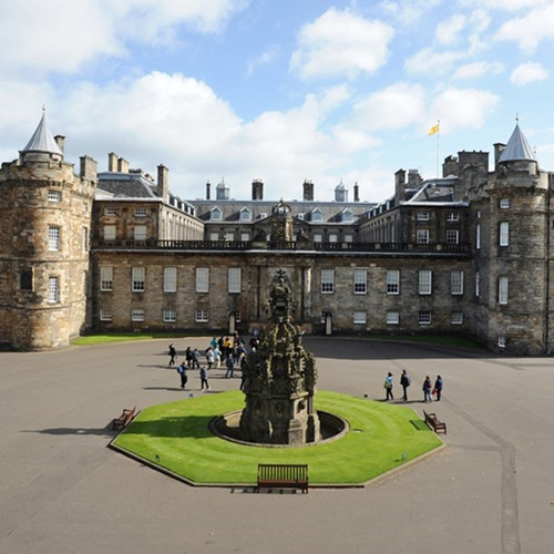 Private tour of the palace of Holyroodhouse with Michelin star lunch for up to 12