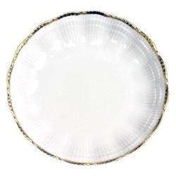 Corail Gold Set of 6 deep plates, 19cm