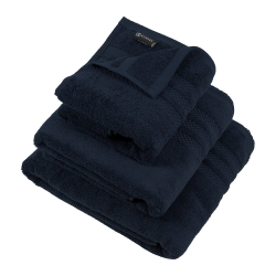 Egyptian Cotton Hand towel, 50 x 90cm, Navy