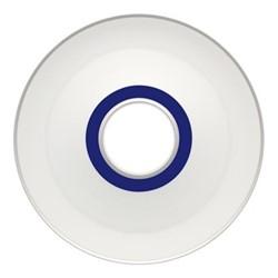 Harvard Olive dish, 19.5 x 2.5cm, blue