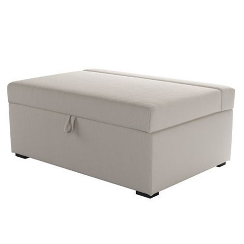 Henry Single bed in a box, H42 x W107 x D74cm, Taupe