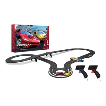 American Stock Cars Micro Scalextric, track length: 386cm