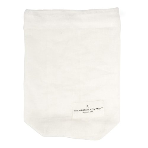 Small food bag, 22 x 16cm, natural white