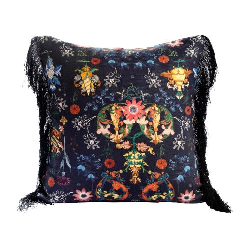 Transylvania Folk Square cushion, L50 x W50cm, Multi