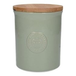 Richmond Storage jar, H14 x D11cm, green