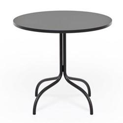 Friday Round bistro table, 80 x 72 x 80cm, black/fenick