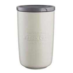Innovative Kitchen Large storage jar, H20 x L12cm, cream