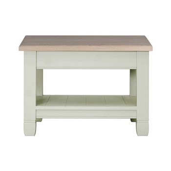 Chichester Low side table, W65 x D65 x H45cm, shingle