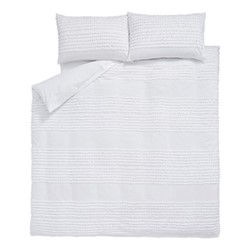 Malmo Single duvet set, 135 x 200cm, white