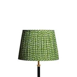 Block printed lampshade 30cm