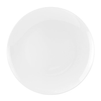 Serendipity Set of 4 coupe plates, 27cm, white