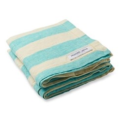 Linen beach towel