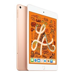 "2019 iPad mini 5, Wi-Fi + Cellular, 64GB, 7.9"", gold"