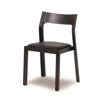 Profile Wenge chair, H78 x W49.5 x D49.5cm, wenge