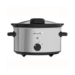 CSC044 Hinged lid slow cooker, 3.5 litre, stainless steel