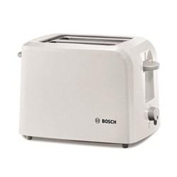 Village Collection 2 slice toaster, 16 x 31 x 19cm, white